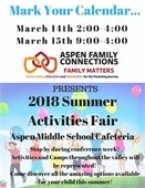 Aspen Family Connection flyer