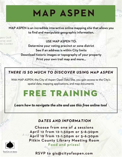 Map Aspen Training
