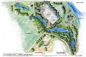 Rio Grande Project Drawing Map