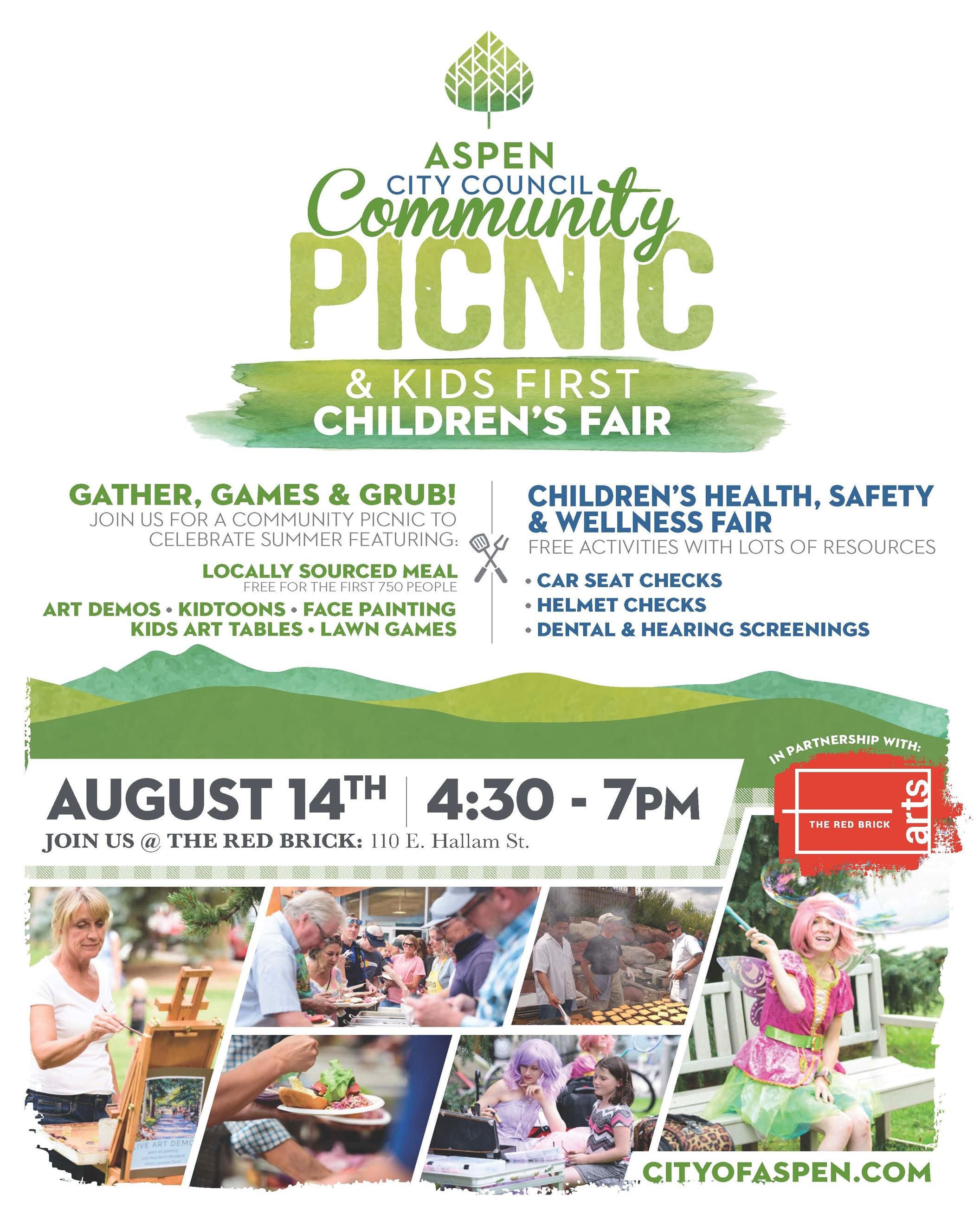 2019-CommunityPicnic-Poster