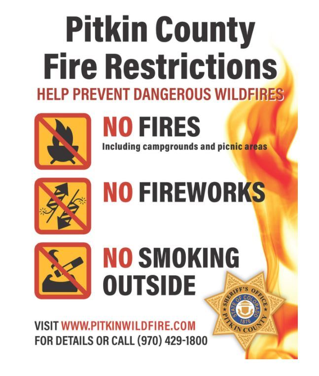 Pitkin Eagle Fire Restrictions - Stage 1