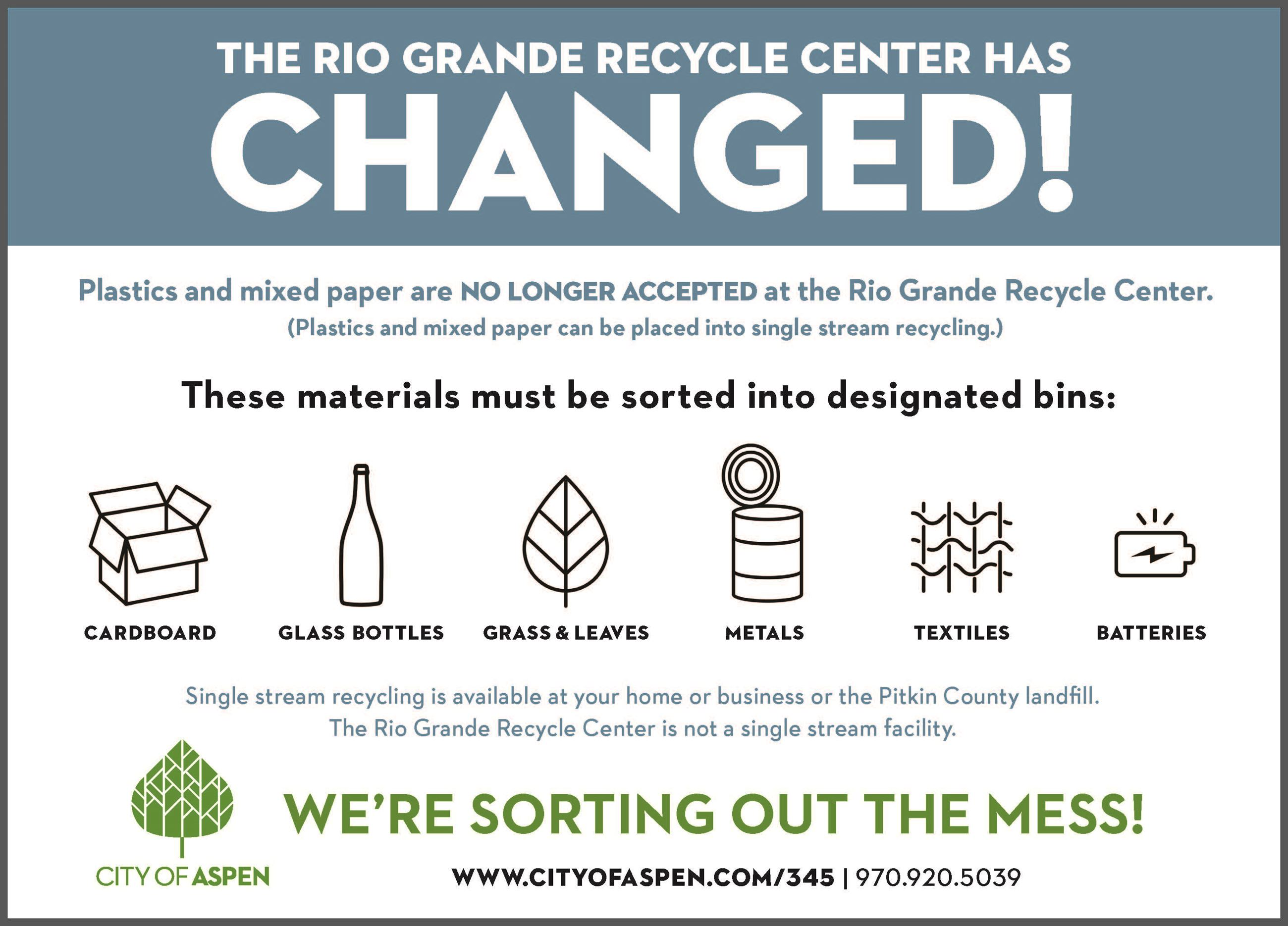 Rio Grande Recycle Center changed